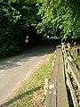 Raised footpath beside Mill Lane - geograph.org.uk - 1402018.jpg