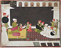 Raja Bakht Singh in durbar (6124570235).jpg