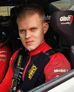 Ott Tänak Estonian rally driver