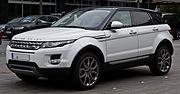 Range Rover Evoque SD4 4WD Prestige – Frontansicht, 12. Juli 2014, Düsseldorf