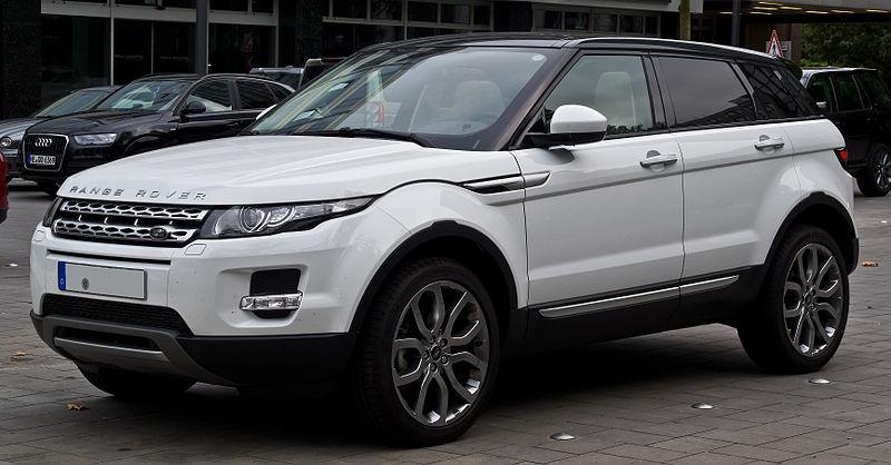 Range Rover Evoque SD4 4WD Prestige %E2%80%93 Frontansicht, 12. Juli 2014, D%C3%BCsseldorf.jpg