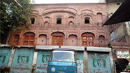 Birthplace of Ranjit Singh in Gujranwala, Punjab, Pakistan. Ranjet Singh's Birth place..jpg
