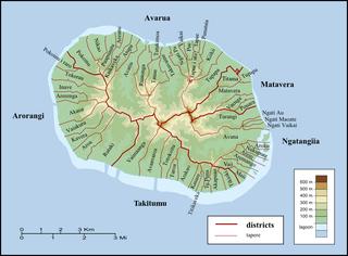Matavera District of the island of Rarotonga in the Cook Islands