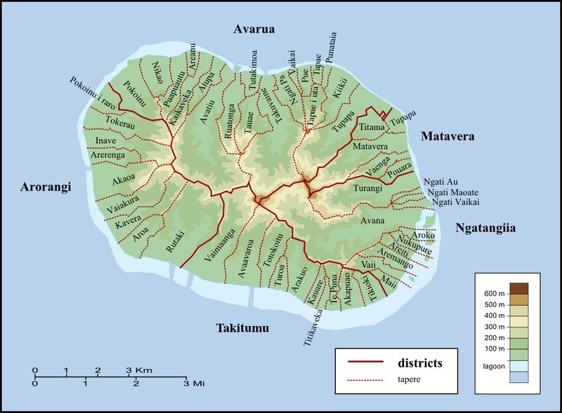 Avarua – Localizzazione