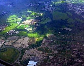 Ravenscraig - Ravenscraig from the air