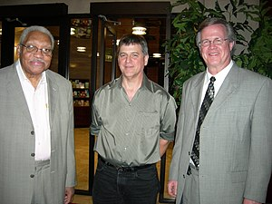 Ray Reach - Left to right: Ellis Marsalis, John Nuckols, Ray Reach, Alys Stephens Center, Birmingham, Alabama, November 4, 2007