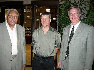 Ray Reach - Left to right: Ellis Marsalis, John Nuckols, Ray Reach, Alys Stephens Center, Birmingham, Alabama, November 4, 2007