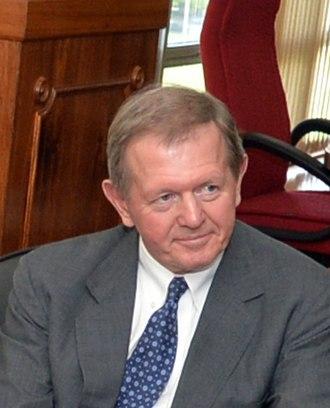 Marcus Wallenberg (born 1956) - Image: Recebe em audiência o presidente do Conselho Administrativo do Shandinaviska Enskilda Banken, Electrolux e SAAB Sistemas de Defesa Aeroespacial, Marcus Wallenberg. (16794468978) (cropped)