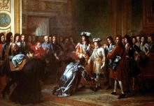 Anjoun herttuan tunnustaminen Espanjan kuninkaaksi.png