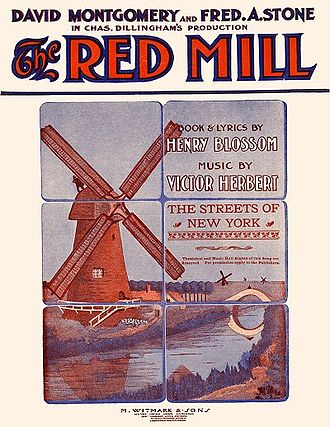 The Red Mill - Sheet music cover