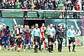 Ref and player entrance Portland Timbers vs Colorado Rapids 2016-10-16 (29746020273).jpg