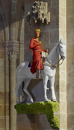 Bamberger Reiter, farbliche Rekonstruktion