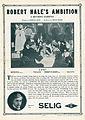 Release flier for ROBERT HALE'S AMBITION, 1913.jpg