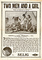 Release flier for TWO MEN AND A GIRL, 1912.jpg