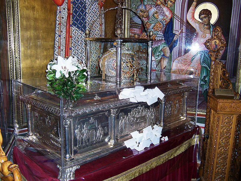 File:Relics of Saint Demetrius.jpg
