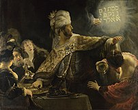 Rembrandt's depiction of the biblical account ...