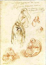 Rembrandt Studies of Grieving Marys.jpg