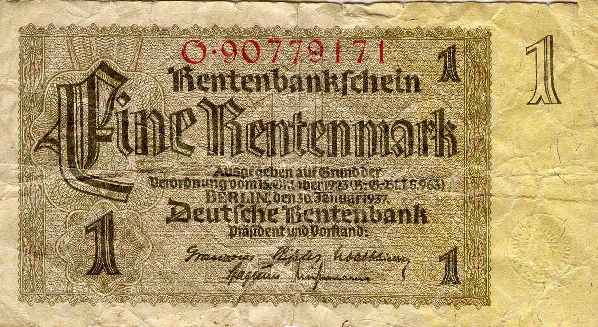 German rentenmark wikipedia buycottarizona