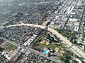 Reseda Blvd. crosses the Los Angeles River in Reseda, Los Angeles, California.jpg