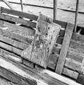 Restanten van het houtwerk van de voormalige torenspits - Hazerswoude - 20103731 - RCE.jpg