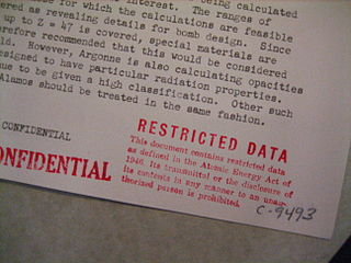 Restricted Data