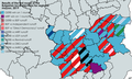 Results of the first round of the Bulgarian local elections for regional mayors, 2019.png