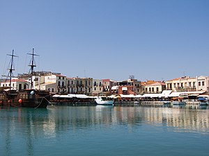 Rethymno - View of the old harbour