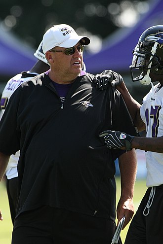 Rex Ryan - Ryan as the Ravens' defensive coordinator, August 2008