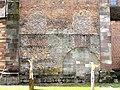 Rheinmünster, Klosterkirche Schwarzach, nördlicher Querarm, zugemauerte Öffnungen.jpg