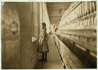 Lincolnton, North Carolina - 10-year-old factory worker in Lincolnton, 1908