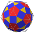 Rhombicosidodecahedron in rhombic triacontahedron max.png