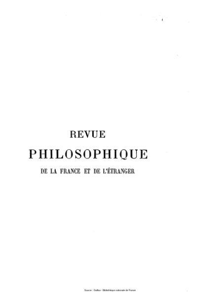File:Ribot - Revue philosophique de la France et de l'étranger, tome 19.djvu