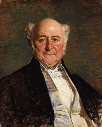 Richard Bethell, 1st Baron Westbury - Lord Westbury by Michele Gordigiani.
