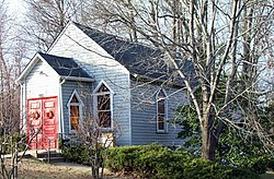 Iglesia Episcopal Metodista Ridgley Dec 08.JPG