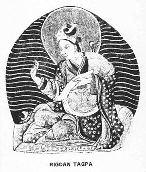 Shambhala - Manjuśrīkīrti, King of Shambhala