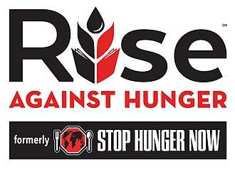 Rise Against Hunger - Image: Rise Against Hunger Logo