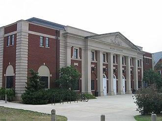 Ritchie Coliseum - The front exterior of Ritchie Coliseum.