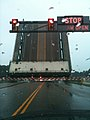 Roadway view of Great Bridge during bridge lift - Chesapeake VA.jpg