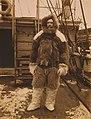 Robert Edwin Peary, full-length portrait, standing on the deck of the Roosevelt.jpg