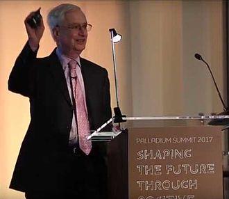 Robert S. Kaplan - Robert Kaplan speaking at the 2017 Palladium Positive Impact Summit in London.