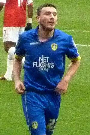 Robert Snodgrass - Snodgrass playing for Leeds United in 2011