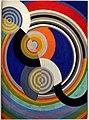 Robert delaunay, ritmo n. 2, decorazione per il salone delle tuileries, 1938.jpg