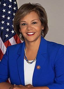 Robin Kelly, official portrait, 116th Congress.jpg