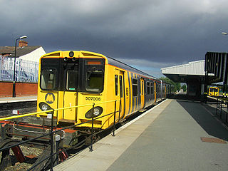 Rock Ferry railway station Railway station on the Chester & Ellesmere Port branches of the Wirral line in England