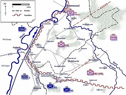 Dispositions in the Roer Triangle, January 1945. Roer Triangle Map.jpg
