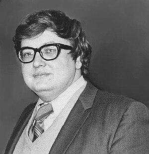 Roger Ebert, american film critic.