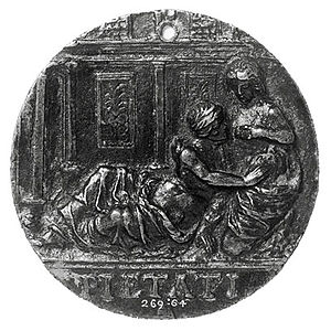 Roman Charity - Image: Roman Charity c.1500 1520