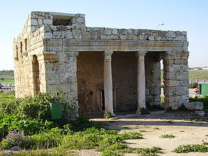 Al-Muzayri'a - Image: Roman Mausoleum in Mazor, Israel