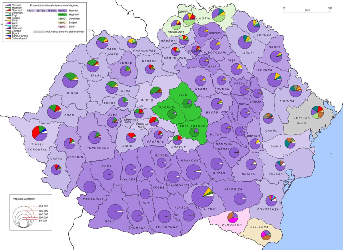 gruppi etnici in romania wikipedia