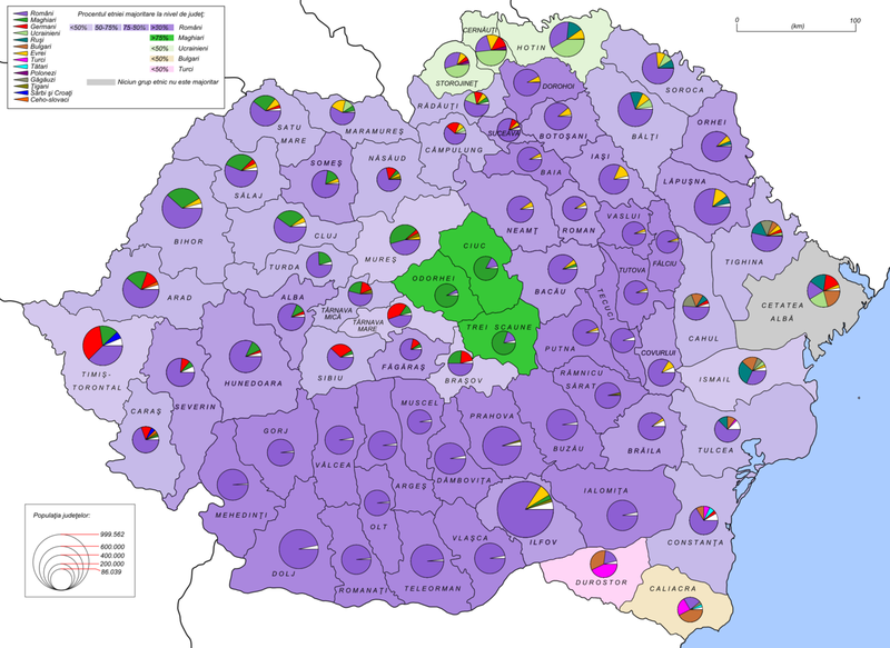 Fișier:Romania 1930 ethnic map.png